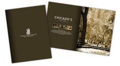 Ritz-Carlton Residences, Chicago, Magnificent Mile - Brochure Design via… Hotel Brochure, Hotel Branding, Creative Brochure, Brochure Design, Brochure Ideas, Menu Layout, Marketing Materials, Marketing Ideas, Magazine Layout Design