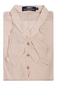 Silk Ruffle Front Top I Womenswear I Fashion I Classic I Herringbone Sydney I $199 AUD