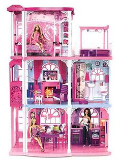In 1962, the teen queen finally got a palace. Well, sort of. The first Barbie's Dream House released by Mattel left a few things to be desired.