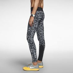 Their moisture-wicking fabric will keep you dry during runs, but these flattering Nike Epic Lux Leggings ($125) have just the right amount of print to make your legs pop.
