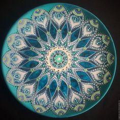 Декоративная посуда ручной работы. Ярмарка Мастеров - ручная работа. Купить Тарелка декоративная Ниагара. Handmade. Подарок на любой случай