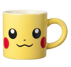 Be with Pikachu during breakfast, snacktime or bedtime with this cute Pikachu mug ♥︎ Original Nintendo product.