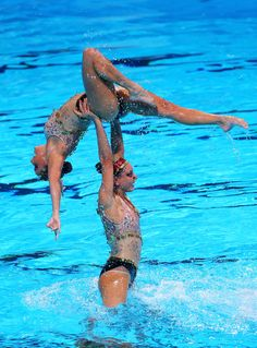 Brazil compete in the Synchronized Swimming Team preliminary round on day four of the 15th FINA World Championships at Palau Sant Jordi on July 23, 2013 in Barcelona, Spain.