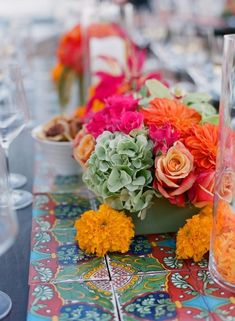 Colorful Wedding Decorations 4