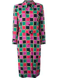 PIERRE CARDIN VINTAGE Colour-Block Dress