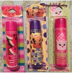 New jumbo lip balms  cant wait to find them