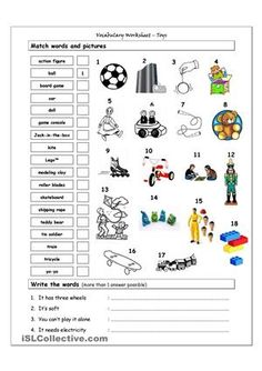 toys pictionary poster 1 vocabulary worksheet icon toys pinterest activities for kids and. Black Bedroom Furniture Sets. Home Design Ideas