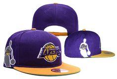 buy popular c452a c7e7c Mens Los Angeles Lakers New Era NBA Logoman Rightside Team Logo 9Fifty  Snapback Cap - Purple   Gold