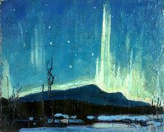 Northern Lights Tom Thomson - 1917
