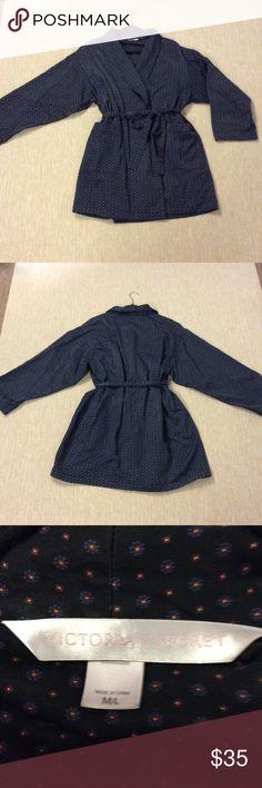 Victoria's Secret Satin Fleece Spa Robe Sz M - L In excellent condition, gentle wear Victoria's Secret Intimates & Sleepwear Robes