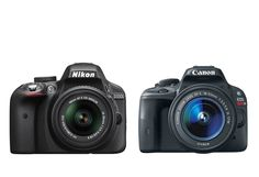 Nikon D3300 vs Canon EOS Rebel SL1/100D