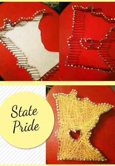 nail and thread state art. Yay MN!