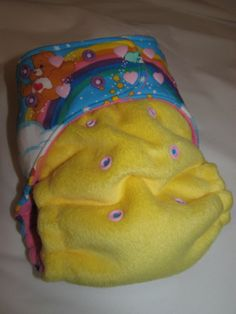 Love this Rump Bumps hybrid fitted diaper!! So squishy and beautiful!