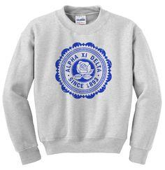 Alpha Xi Delta Seal Crewneck Sweatshirt GreekGear.com