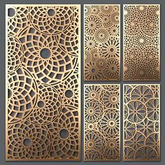 Decorative Metal Screen, Decorative Panels, Decorative Objects, Gate Design, Door Design, Metal Wall Decor, Metal Wall Art, Jaali Design, Cnc Cutting Design