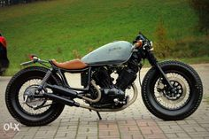 Custom Virago 535. Great job on the wheels!