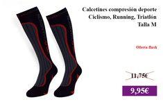 Calcetines compresión deporte - Ciclismo, Running, Triatlón - Talla M  #DeporteYAireLibre ✏  #Ciclismo #CalcetinesDeCompresion #Running #Triatlon #Senderismo https://vdg.fun/n