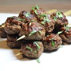 Lemongrass Ground Beef Skewers - Allrecipes.com