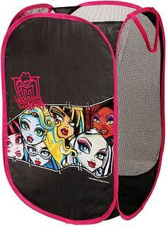 Monster High Pop Up Hamper Storage Basket with Images by Mattel   eBay