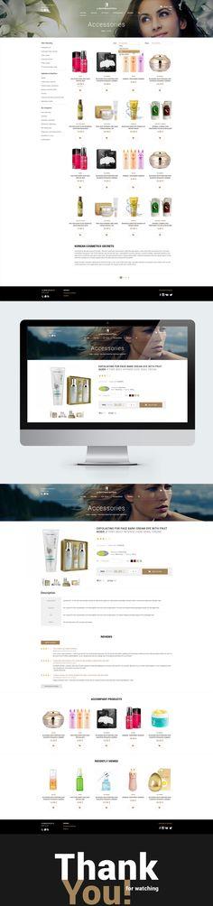 Online cosmetics store. Интернет-магазин косметики.