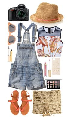 """Senza titolo #3840"" by waikiki24 ❤ liked on Polyvore featuring Abercrombie & Fitch, Clover Canyon, Jigsaw, Skemo, Madewell, Kate Spade, Stila, MAC Cosmetics and Nikon"