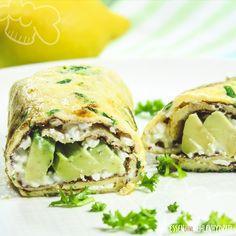 Kräuter-Avocado-Wrap - Essen ohne Kohlenhydrate