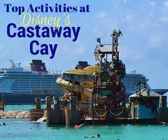 Check out all the fun things you can do at Castaway Cay, Disney's own private island in the Bahamas.