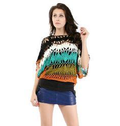 Love this crochet shirt