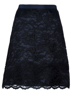 SACAI LUCK  LACE SKIRT
