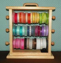Polyurethaned Original Ribbon Storage Rack  by creativevisions207, $38.00