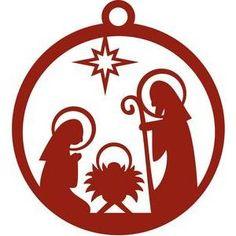 Silhouette Design Store: star of bethlehem ornament