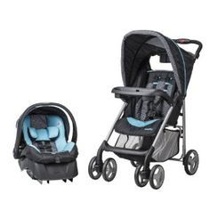 Evenflo JourneyLite Travel System with Embrace, Koi -   - http://babyentry.com/baby/strollers/travel-systems/evenflo-journeylite-travel-system-with-embrace-koi-com/