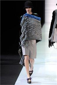 Sfilata Emporio Armani Milano - Collezioni Autunno Inverno 2013-14 - Vogue
