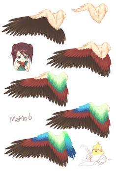 翼の描き方10選【翼の構造、羽の描き方】 【講座】 - pixiv Spotlight