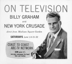 Billy Graham Crusade, New York City, 1957