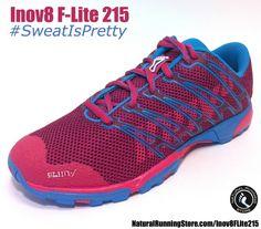 Inov8 F-Lite 215 #running and #crossfit shoe for the ladies. #SweatIsPretty http://naturalrunningstore.com/Inov8FLite215