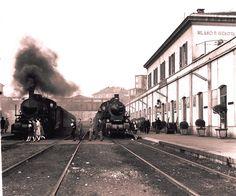 Foto d'epoca stazione di Milano P.ta Genova