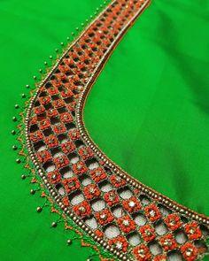 Salwar Designs, Saree Blouse Designs, Bridal Blouse Designs, Blouse Patterns, Blouse Styles, Sari Blouse, Blouse Neck, Sari Design, Blouse Desings