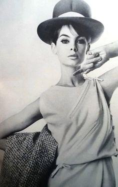 Jean Shrimpton in Vogue April 1963 photographed by William Klein Thanks to Jane Davis