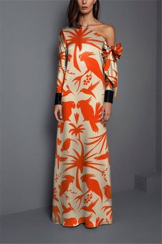 Product Sexy Shoulder Print Long Sleeved Maxi Dress Brand Name swankmyway SKU Gender Women Style Elegant/Sexy/Fashion Type Maxi Dresses Material Polyester Decoration Printing Please Note:All dimensions are measured manually with a deviation of 1 to Elegant Dresses, Sexy Dresses, Fashion Dresses, Evening Dresses, Long Dresses, Simple Dresses, Long Sleeve Maxi, Maxi Dress With Sleeves, Sleeve Dresses