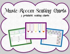 FREE RESOURCE:  Music Room Seating Charts