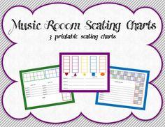 FREE RESOURCE:  Music Room Seating Charts