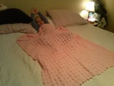 Soft Blossom Baby Blanket's can be used for many year's !!