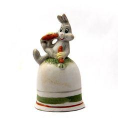 Vintage Bugs Bunny Bell by StumbledUponTreasure on Etsy