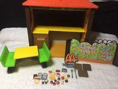 Barbie Loves McDonalds Play Set 5559 Vintage 1982 Mattel Restaurant Toy  | eBay Mcdonald's Restaurant, Mcdonalds, Barbie, Toys, Fun, Ebay, Vintage, Activity Toys, Clearance Toys