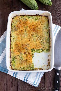 Easy Zucchini Bake Casserole by CanuckCuisine, via Flickr