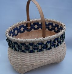 Cat Head style potbelly basket