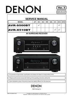 denon avr x1200w s710w a v receiver service manual and repair guide rh pinterest com denon avr 686 manual denon avr 889 manual