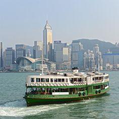 Cross the busy waters of Victoria Harbour on the historic Star Ferry.  乘坐天星小輪,感受百年歷史,盡覽維港美景。  #DiscoverHongKong #hk #ilovehk #hkig #HKinsider #hongkonginsider #StarFerry #Ferry #HongKongIsland #VictoriaHarbour #harbourview #hongkongconventionandexhibitioncentre #HKCEC #cityscape #urban #urbanlandscape #skyline #hk #香港#香港逗陣行#香港旅行#維多利亞港#天星小輪