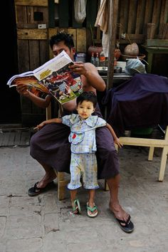 Yangon, Burma, February 2010